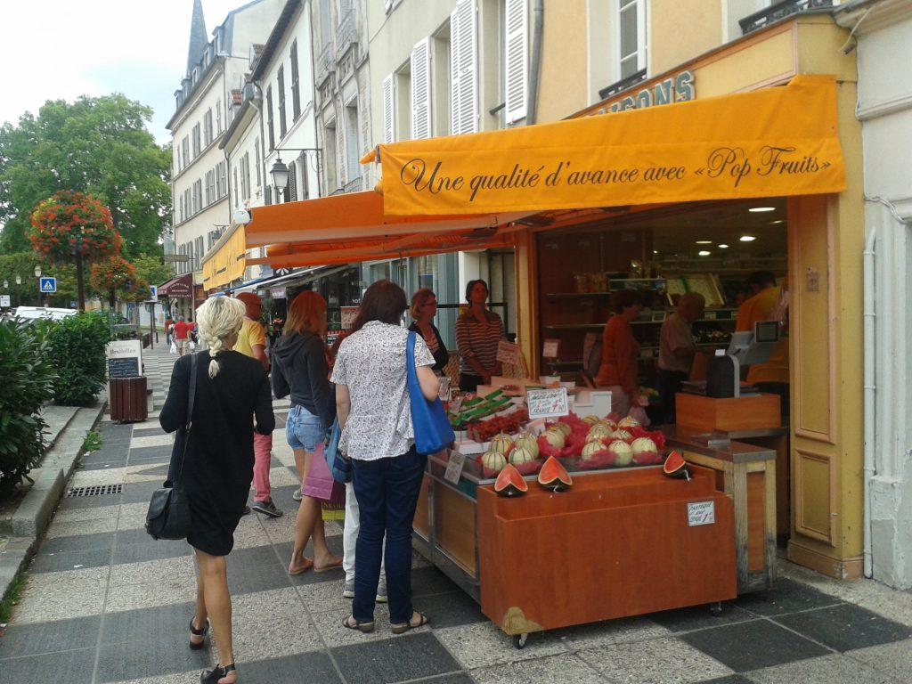 Фруктовый рынок в Париже